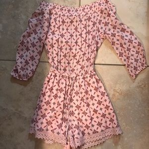 Abercrombie and Fitch Off the Shoulder Romper